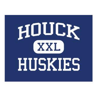 Houck Huskies Middle School Salem Oregon Postcard