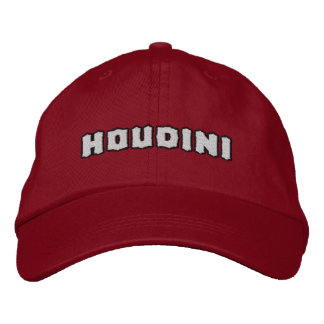 Houdini Handcuff King Embroidered Hat