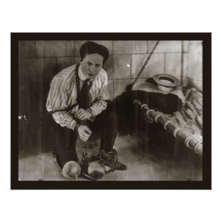 Houdini in Chains poster