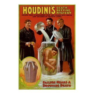 Houdini's Death Defying Mystery Poster