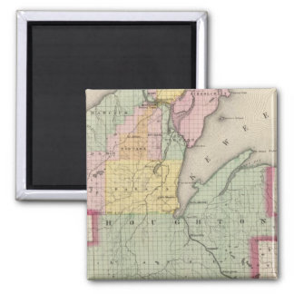 Houghton County Michigan Magnet