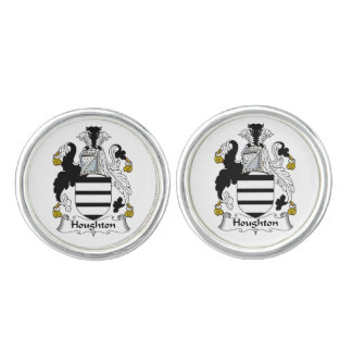 Houghton Family Crest Cufflinks