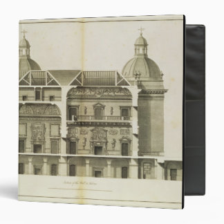 Houghton Hall: cross-section of the Hall and Salon Vinyl Binder