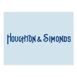 Houghton & Simonds Postcard