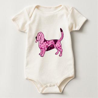 Hound Dog Baby Bodysuit