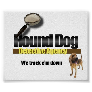 Hound Dog Detective Agency Poster