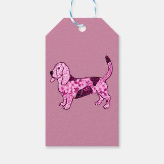 Hound Dog Gift Tags