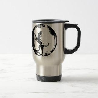 Hound Dog Mug Hunting Dog Art Travel Mug