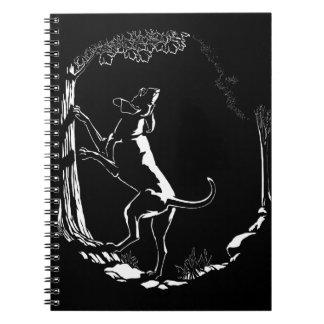 Hound Dog Notebook Dog Journal Book