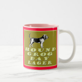 Hound Grog Day Gold Lager Two-Tone Coffee Mug