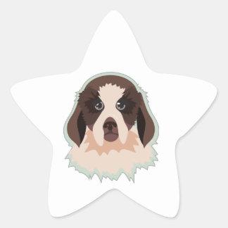 Hound Head Sticker