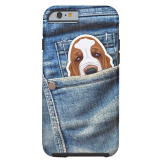 Hound in my pocket tough iPhone 6 case