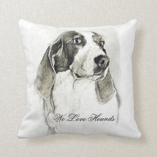 Hound pillow