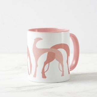 Hounds Mug Peachy Pink