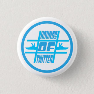 Hounds of Twitter 1 Inch Round Button