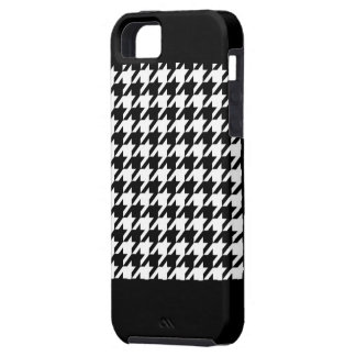 Hounds tooth pattern iPhone 5 cover