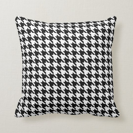 Hounds Tooth Pillow