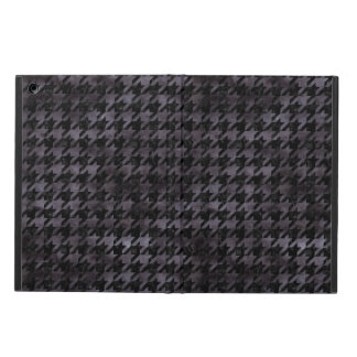 HOUNDSTOOTH1 BLACK MARBLE & BLACK WATERCOLOR iPad AIR CASE