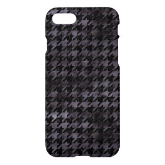 HOUNDSTOOTH1 BLACK MARBLE & BLACK WATERCOLOR iPhone 8/7 CASE