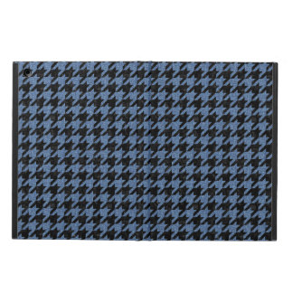 HOUNDSTOOTH1 BLACK MARBLE & BLUE DENIM COVER FOR iPad AIR
