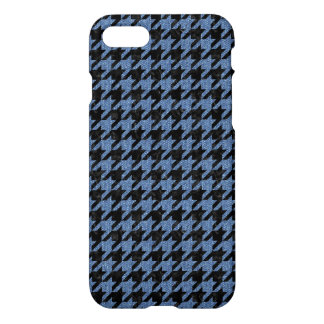 HOUNDSTOOTH1 BLACK MARBLE & BLUE DENIM iPhone 8/7 CASE