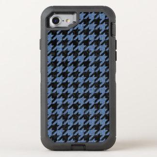 HOUNDSTOOTH1 BLACK MARBLE & BLUE DENIM OtterBox DEFENDER iPhone 8/7 CASE
