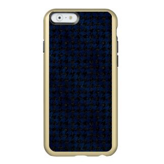 HOUNDSTOOTH1 BLACK MARBLE & BLUE GRUNGE INCIPIO FEATHER® SHINE iPhone 6 CASE