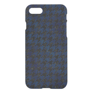 HOUNDSTOOTH1 BLACK MARBLE & BLUE GRUNGE iPhone 8/7 CASE