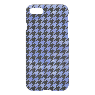 HOUNDSTOOTH1 BLACK MARBLE & BLUE WATERCOLOR iPhone 8/7 CASE