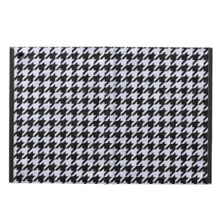 HOUNDSTOOTH1 BLACK MARBLE & WHITE MARBLE CASE FOR iPad AIR