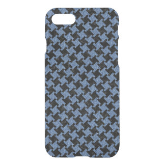 HOUNDSTOOTH2 BLACK MARBLE & BLUE DENIM iPhone 8/7 CASE
