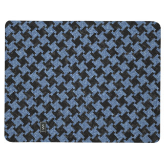 HOUNDSTOOTH2 BLACK MARBLE & BLUE DENIM JOURNAL
