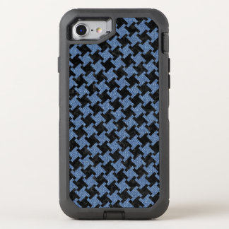 HOUNDSTOOTH2 BLACK MARBLE & BLUE DENIM OtterBox DEFENDER iPhone 8/7 CASE
