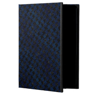 HOUNDSTOOTH2 BLACK MARBLE & BLUE GRUNGE POWIS iPad AIR 2 CASE