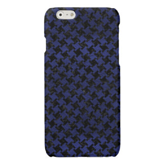 HOUNDSTOOTH2 BLACK MARBLE & BLUE LEATHER
