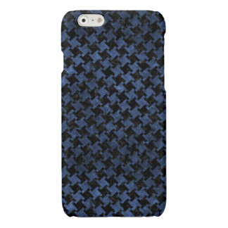HOUNDSTOOTH2 BLACK MARBLE & BLUE STONE