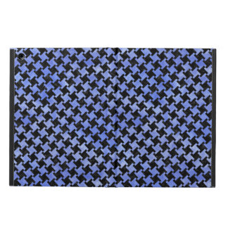 HOUNDSTOOTH2 BLACK MARBLE & BLUE WATERCOLOR CASE FOR iPad AIR