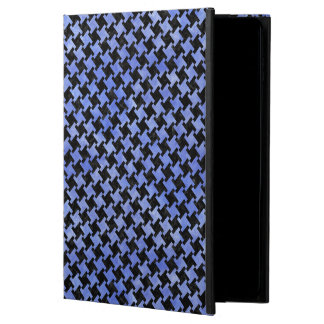 HOUNDSTOOTH2 BLACK MARBLE & BLUE WATERCOLOR POWIS iPad AIR 2 CASE