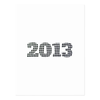 Houndstooth 2013 postcard