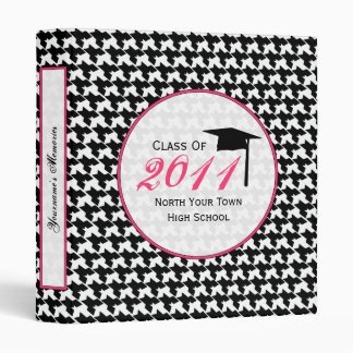 Houndstooth Binder - Senior 2011 Graduation