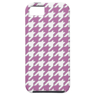 houndstooth bodacious and white iPhone 5 case