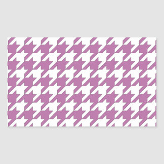 houndstooth bodacious and white sticker