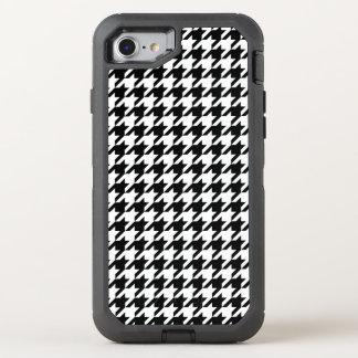 Houndstooth check pattern design background OtterBox defender iPhone 7 case
