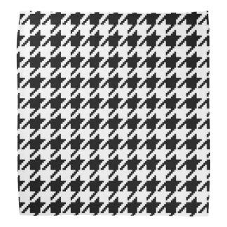 Houndstooth classic weaving pattern bandana