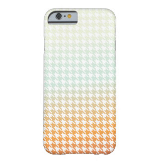 Houndstooth creamsiclish barely there iPhone 6 case