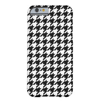 Houndstooth - Customize Background Color Barely There iPhone 6 Case