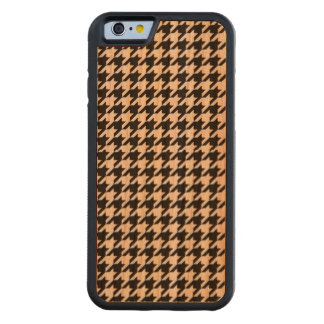 Houndstooth - Customize Background Color Cherry iPhone 6 Bumper Case