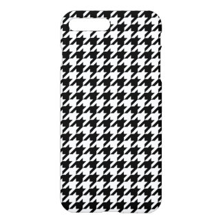 Houndstooth - Customize Background Color iPhone 7 Plus Case