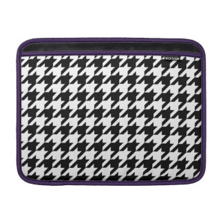 Houndstooth - Customize Background Color MacBook Sleeves