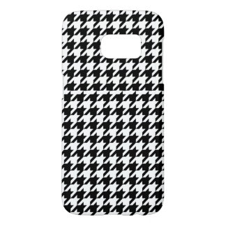 Houndstooth - Customize Background Color Samsung Galaxy S7 Case